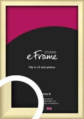 Refined Gold Picture Frame, 4x6