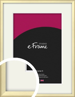 Refined Gold Picture Frame & Mount (VRMP-A044-M)