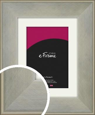 Classic Silver Picture Frame & Mount (VRMP-785-M)