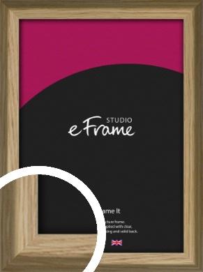 Rustic Classic Natural Wood Picture Frame (VRMP-793)