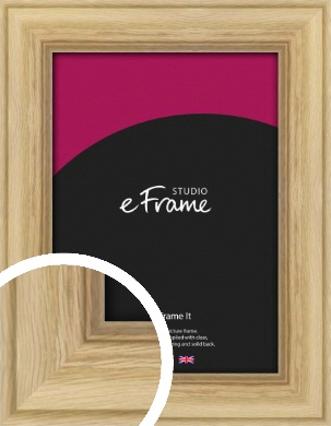 Exposed Grain Natural Wood Picture Frame (VRMP-264)