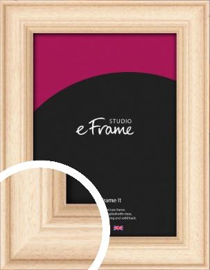 Curvaceous Natural Wood Picture Frame (VRMP-265)