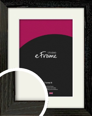 Industrial Edge Black Picture Frame & Mount (VRMP-591-M)