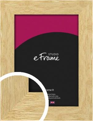 Basic Solid Oak Natural Wood Picture Frame (VRMP-426)