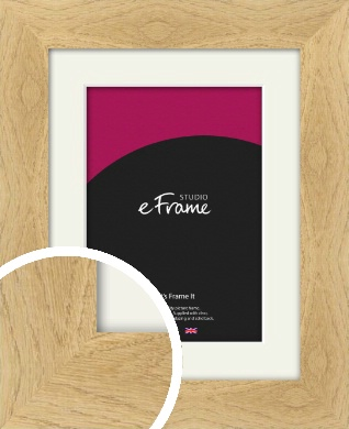 Characterful Natural Wood Picture Frame & Mount (VRMP-428-M)