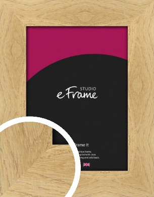 Characterful Natural Wood Picture Frame (VRMP-428)