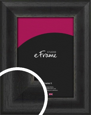 Stained Midnight Black Picture Frame (VRMP-580)