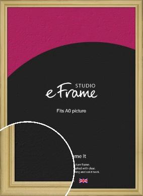 Au Natural Natural Wood Picture Frame, A0 (841x1189mm) (VRMP-802-A0)