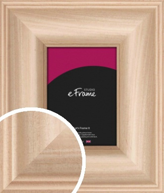 Classic Style Natural Wood Picture Frame (VRMP-432)