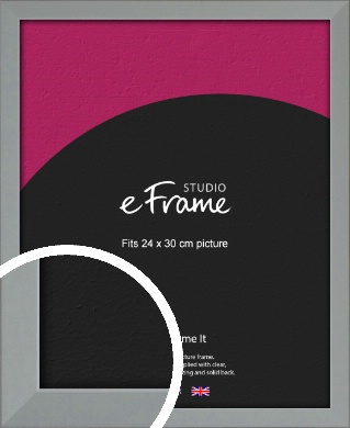 Neutral Grey Picture Frame, 24x30cm (VRMP-811-24x30cm)