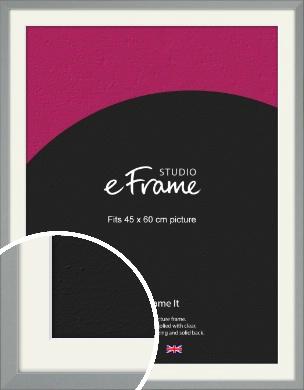 Neutral Grey Picture Frame & Mount, 45x60cm (VRMP-811-M-45x60cm)