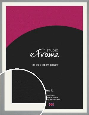Neutral Grey Picture Frame & Mount, 60x80cm (VRMP-811-M-60x80cm)