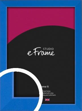 Clean Azure Blue Picture Frame (VRMP-813)
