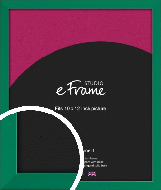 Emerald Green Picture Frame, 10x12