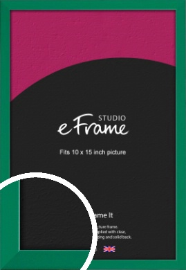 Emerald Green Picture Frame, 10x15