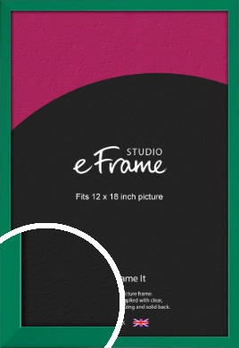Emerald Green Picture Frame, 12x18