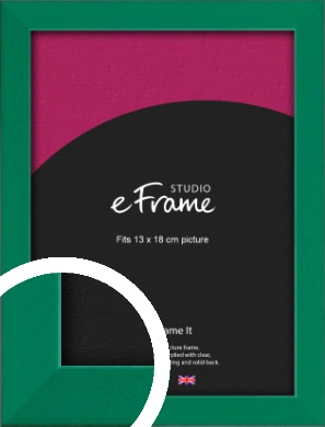 Emerald Green Picture Frame, 13x18cm (5x7