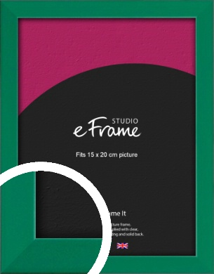 Emerald Green Picture Frame, 15x20cm (6x8