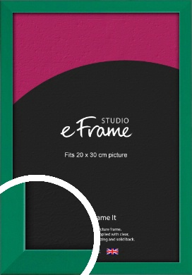 Emerald Green Picture Frame, 20x30cm (8x12