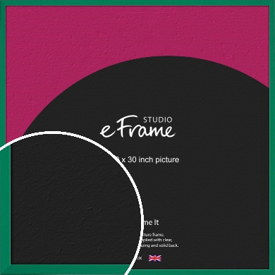 Emerald Green Picture Frame, 30x30