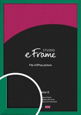 Emerald Green Picture Frame, A3Plus (VRMP-814-329x483mm)