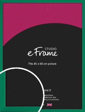 Emerald Green Picture Frame, 45x60cm (VRMP-814-45x60cm)