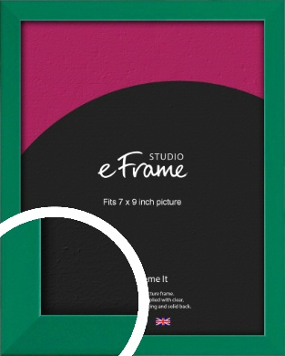 Emerald Green Picture Frame, 7x9