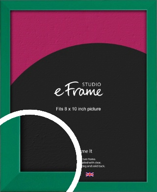 Emerald Green Picture Frame, 8x10