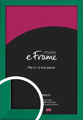 Emerald Green Picture Frame, 8x12