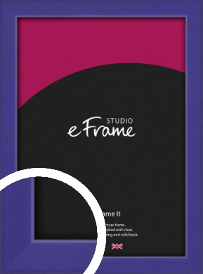 Royal Purple Picture Frame (VRMP-816)