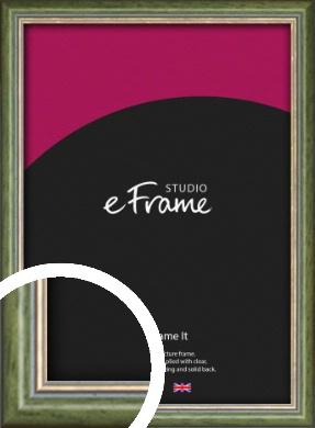 Vintage Green Picture Frame (VRMP-821)