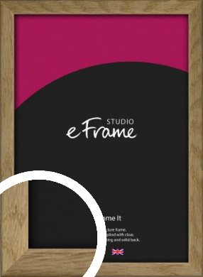 Farmhouse Natural Wood Picture Frame (VRMP-822)