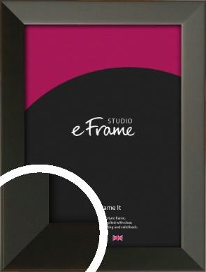 Flat Modern Black Picture Frame (VRMP-764)