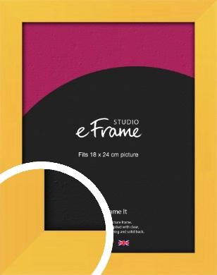 Fresh & Playful Yellow Picture Frame, 18x24cm (VRMP-760-18x24cm)