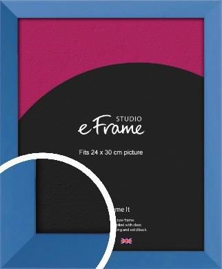 Calming Blue Picture Frame, 24x30cm (VRMP-768-24x30cm)