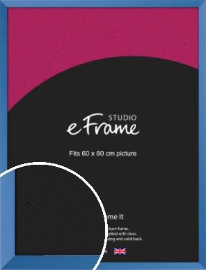 Calming Blue Picture Frame, 60x80cm (VRMP-768-60x80cm)