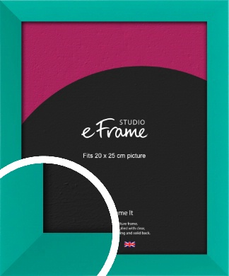 Aquamarine Green Picture Frame, 20x25cm (8x10