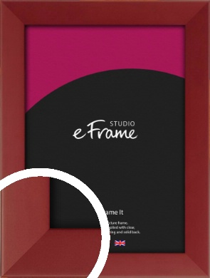 Classic Deep Red Picture Frame (VRMP-759)