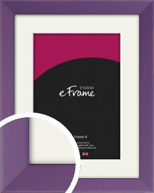 Classic Purple Picture Frame & Mount (VRMP-755-M)
