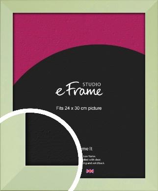 Pastel Green Picture Frame, 24x30cm (VRMP-835-24x30cm)