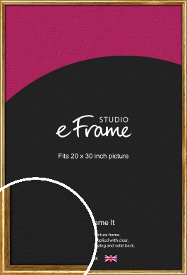 Antique Gold Picture Frame, 20x30