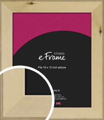 Beachwood Natural Wood Picture Frame, 10x12
