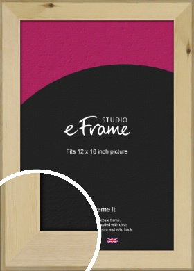 Beachwood Natural Wood Picture Frame, 12x18
