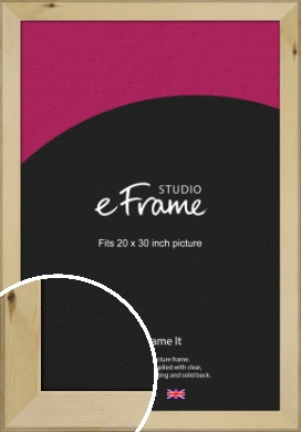Beachwood Natural Wood Picture Frame, 20x30