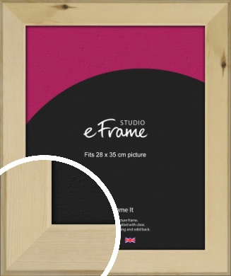 Beachwood Natural Wood Picture Frame, 28x35cm (VRMP-842-28x35cm)