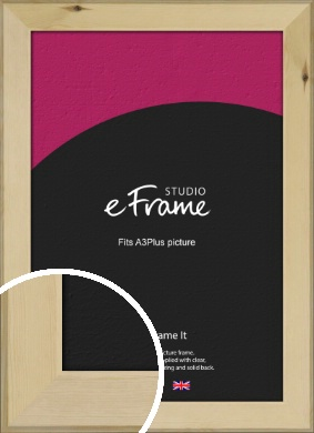 Beachwood Natural Wood Picture Frame, A3Plus (VRMP-842-329x483mm)