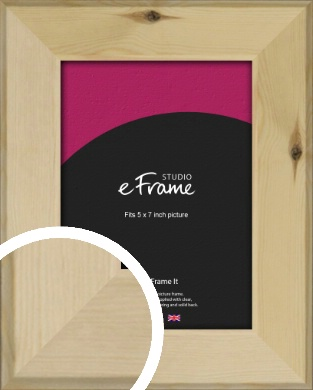 Beachwood Natural Wood Picture Frame, 5x7