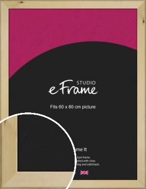 Beachwood Natural Wood Picture Frame, 60x80cm (VRMP-842-60x80cm)