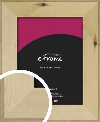 Beachwood Natural Wood Picture Frame, 6x8
