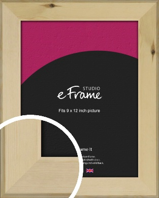 Beachwood Natural Wood Picture Frame, 9x12